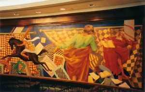 SHERATON MEXIQUE fresques 2