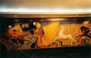 SHERATON MEXIQUE fresques 3