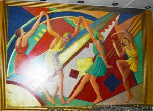 SHERATON SAO PAULO peinture art deco